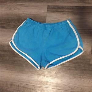 """American Apparel """"running"""" shorts"""